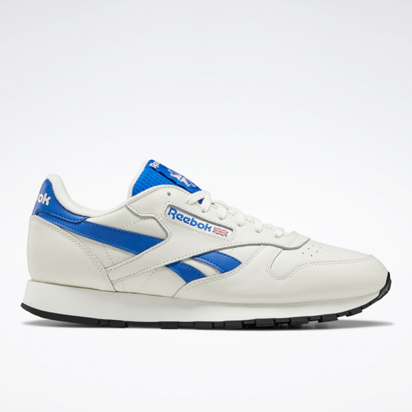 Reebok Classic Leather Men's Shoes in Chalk / Blue