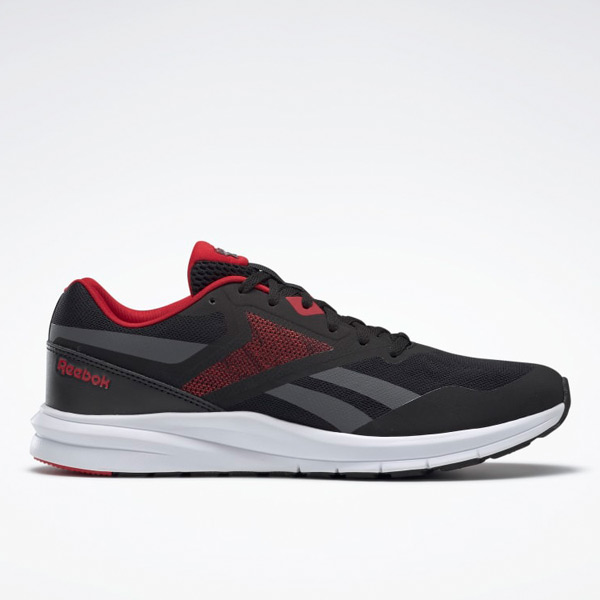 Reebok Runner 4 Men's Running Shoes in Black / Red
