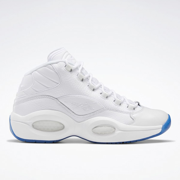 Reebok Question Mid Men's Basketball Shoes in White