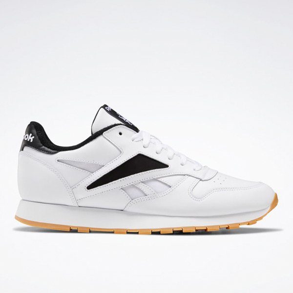 Reebok Classic Leather Mark Men's Shoes in White