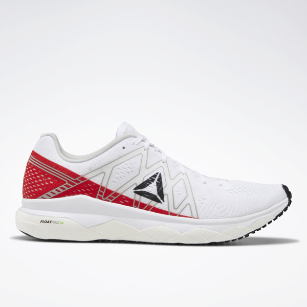 Reebok Floatride Run Fast Women's Running Shoes in White / Primal Red