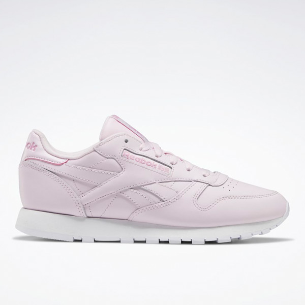 Reebok Women's Classic Leather Retro Running Shoes in Pink