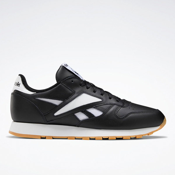 Reebok Classic Leather Mark Men's Shoes in Black