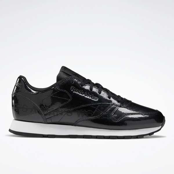 Reebok Classic Leather Women's Shoes in Black