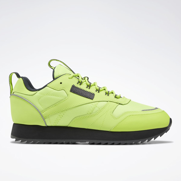 Reebok Classic Leather Ripple Trail, Women's Lifestyle Shoes in Lime