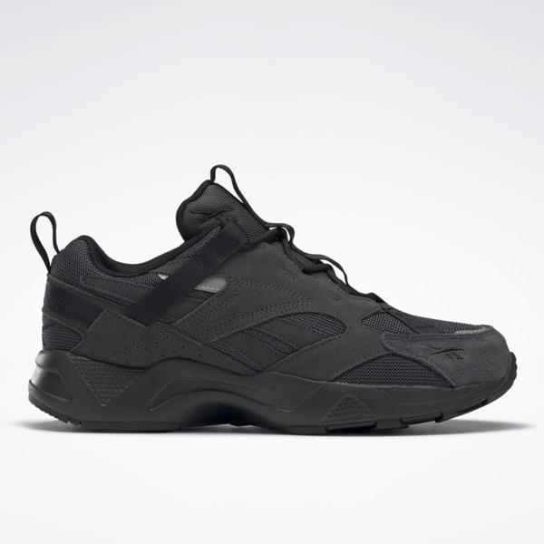 Reebok Aztrek 96 Adventure Unisex Retro Running Shoes in Black