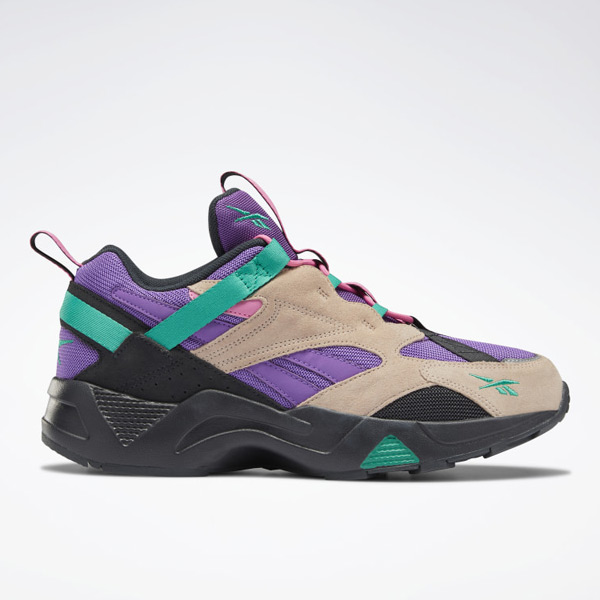 Reebok Aztrek 96 Adventure Unisex Retro Running Shoes in Purple