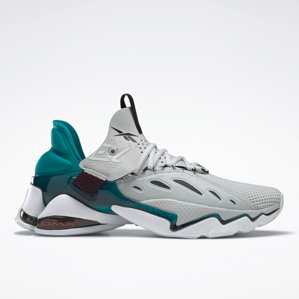 Reebok DMX Elusion 001 FT Unisex Running Shoes in Grey / Teal