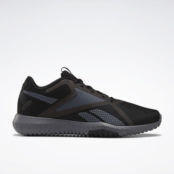 Reebok Flexagon Force 2.0 Men's Training Shoes Extra-Wide Shoes in Black