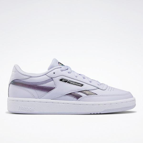 Reebok Club C Revenge Women's Shoes in Purple