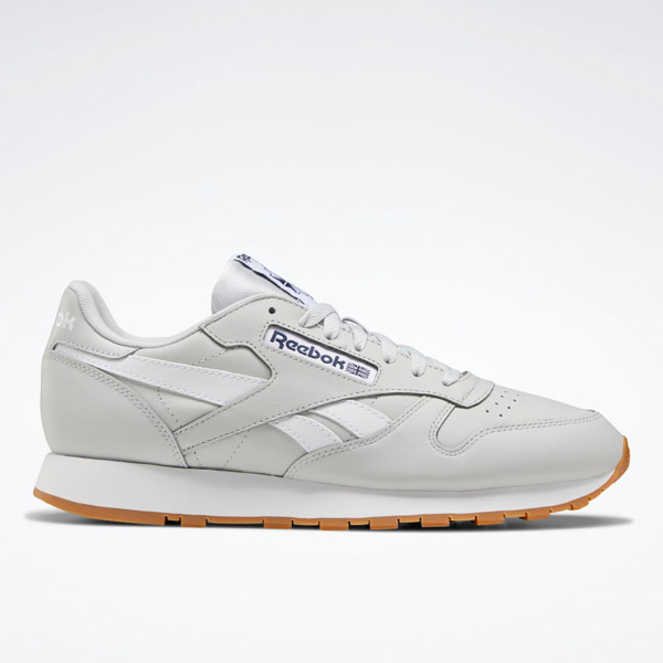 Reebok Classic Leather Men's Shoes in Grey