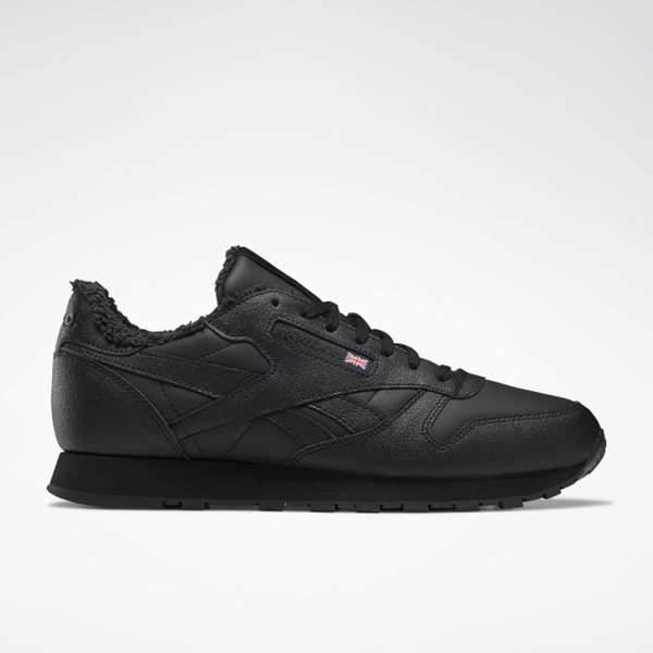 Reebok Classic Leather Men's Lifestyle Shoes in Black