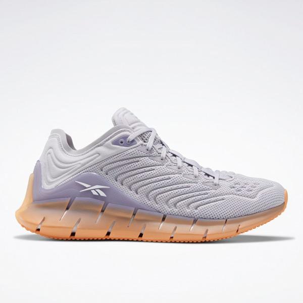 Reebok Zig Kinetica Women's Shoes in Grey / Violet