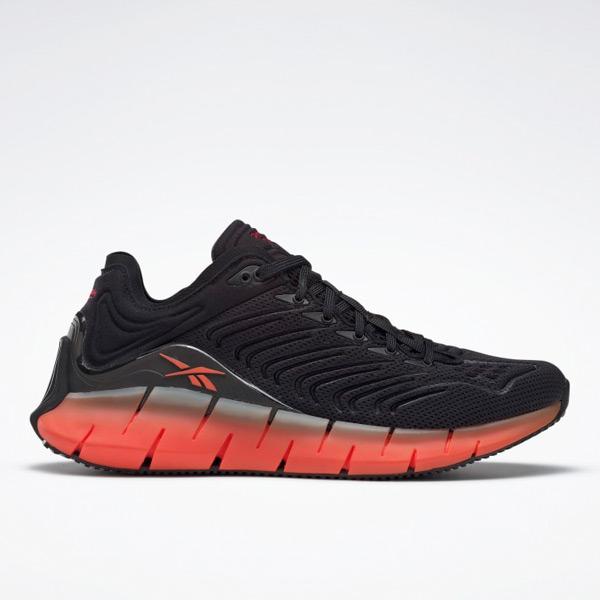 Reebok Zig Kinetica Women's Shoes in Black / Orange
