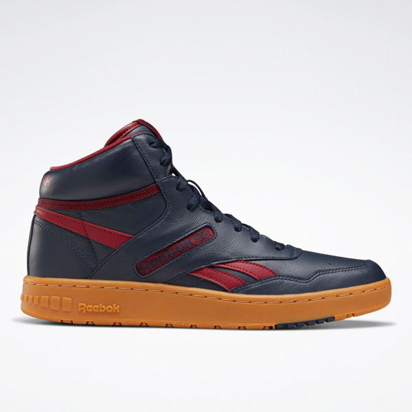 Reebok BB 4600 Unisex Basketball Shoes in Navy