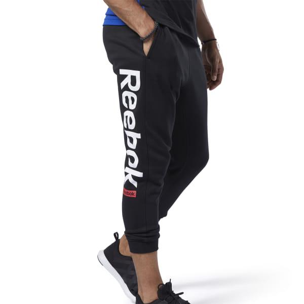 Reebok Training Essentials Logo Men's Jogger Pants in Black