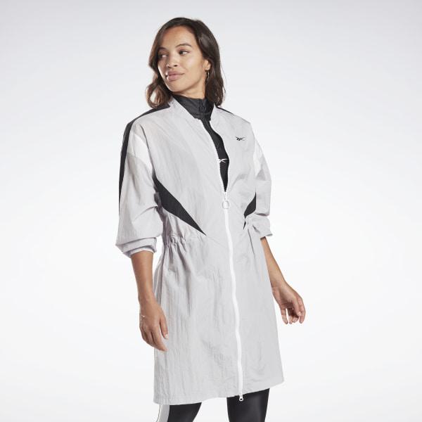Reebok Women's Studio High Intensity Jacket in Grey
