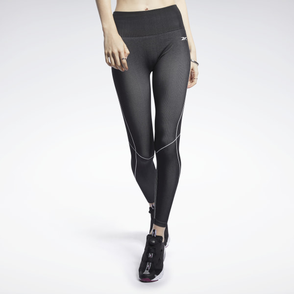 Reebok Women's Meet You There 7/8 Training Tights in Black