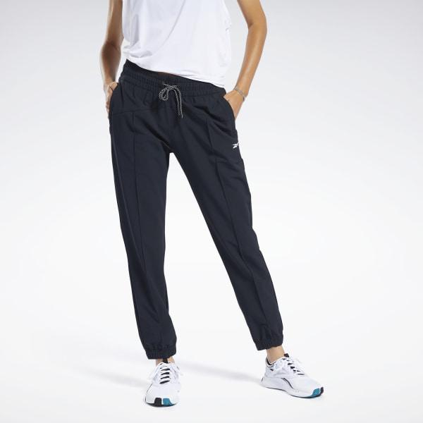Reebok Women's Commercial Woven Pants in Black