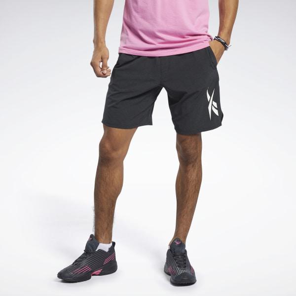 Reebok Textured Epic Men's Training Shorts in Black