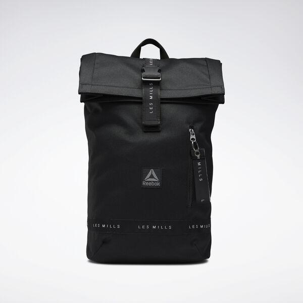 Reebok LES MILLS® Unisex Studio Backpack in Black