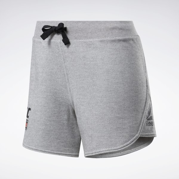 Reebok UFC FG Fight Week Women's MMA Shorts in Grey