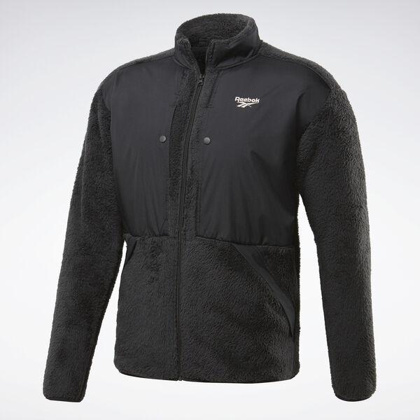 Reebok Classics Trail Men's Full Zip Jacket in Black