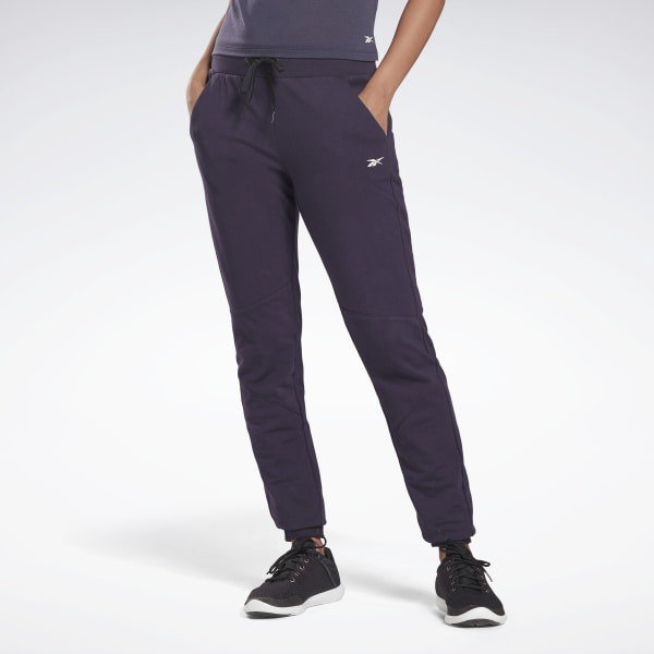 Reebok Women's Studio LES MILLS® Joggers in Purple