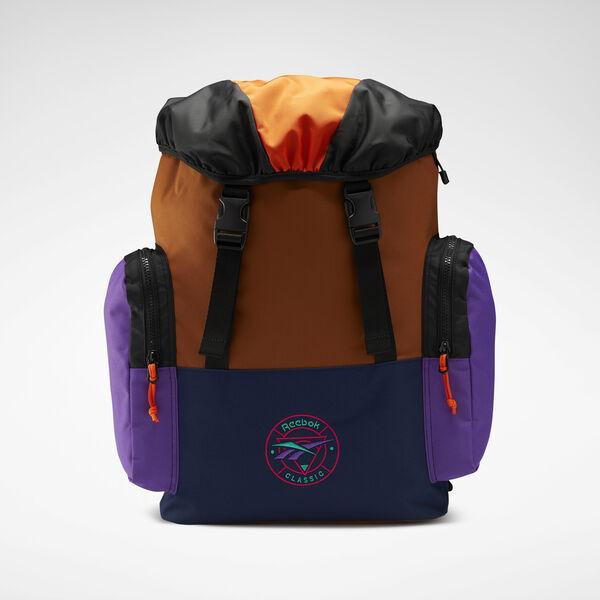 Reebok Classics Trail Backpack in Wild Brown