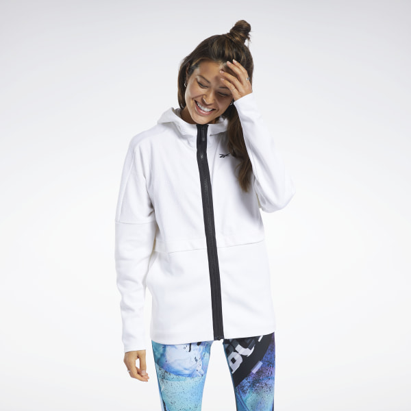 Reebok Quik Cotton Women's Hoodie in White