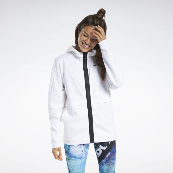 Reebok Quik Cotton Women's Hoodie in White