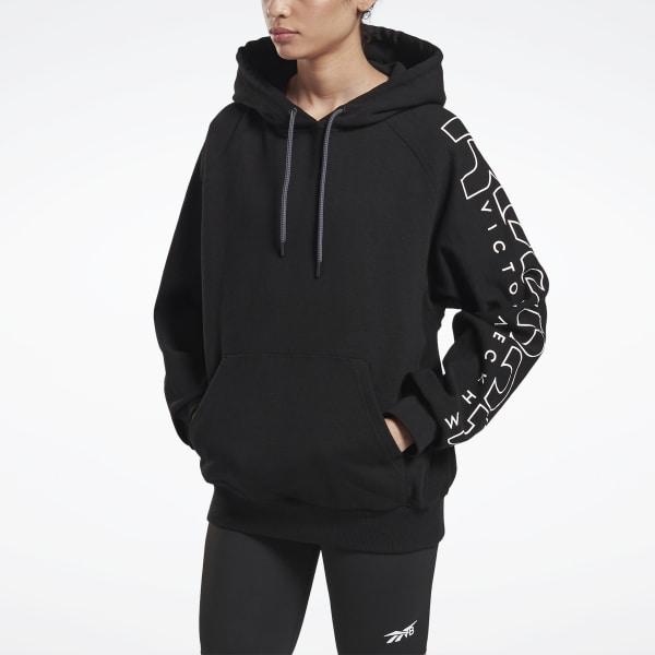Reebok Women's VB Hoodie in Black