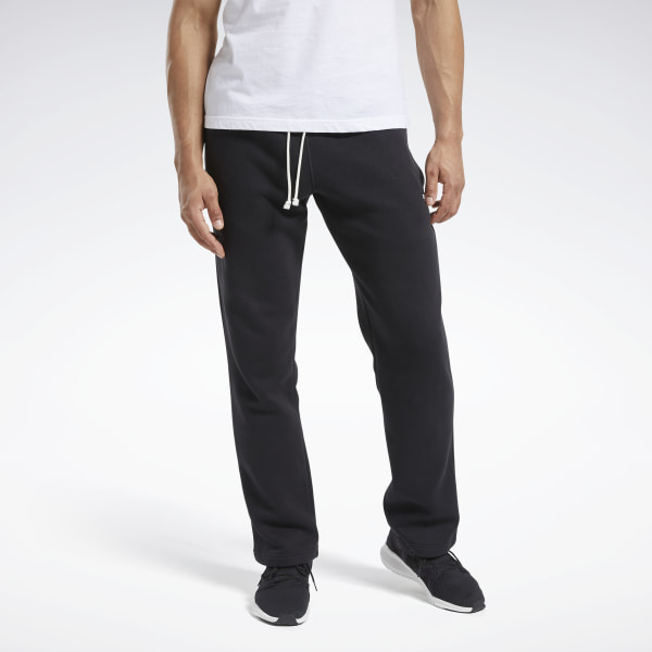 Reebok Men's Training Essentials Fleece Pants in Black