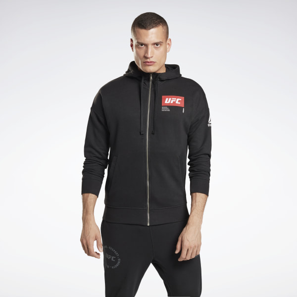 Reebok UFC Fight Week Men's MMA Hoodie in Black