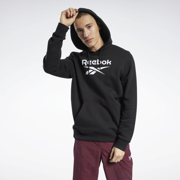 Reebok Classics Men's Vector Hoodie in Black