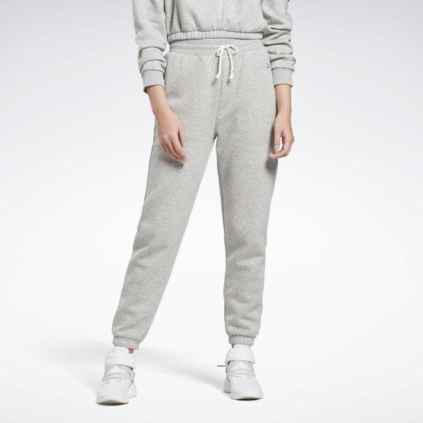 Reebok Restorative Women's Studio Fleece Pants in Grey