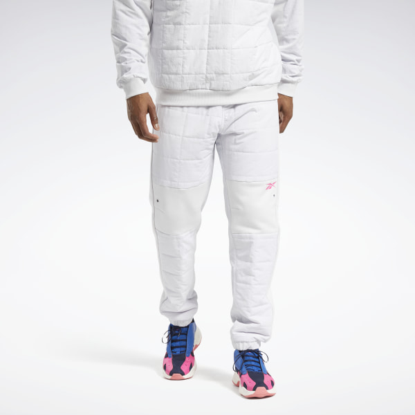 Reebok MYT Men's Training Quilted Pants in White