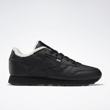 Reebok Classic Leather Women's Lifestyle Shoes in Black