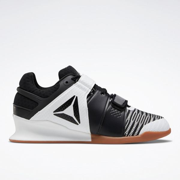 Reebok Legacy Lifter Flexweave® Women's Shoes in White / Black