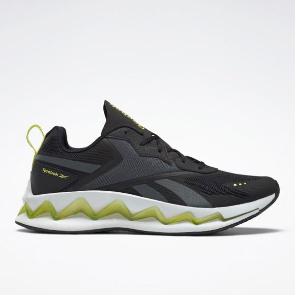 Reebok Unisex Zig Elusion Energy Lifestyle Shoes in Black
