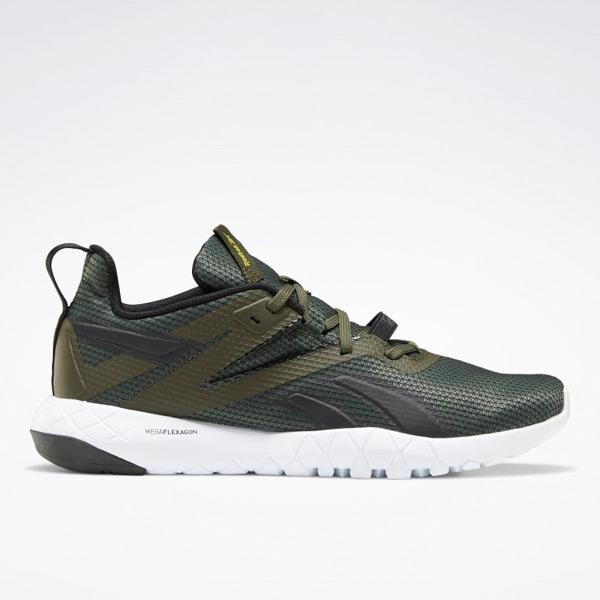 Reebok Mega Flexagon Men's Training Shoes in Poplar Green