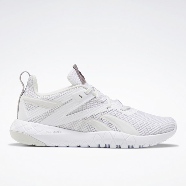 Reebok Mega Flexagon Women's Training Shoes in White