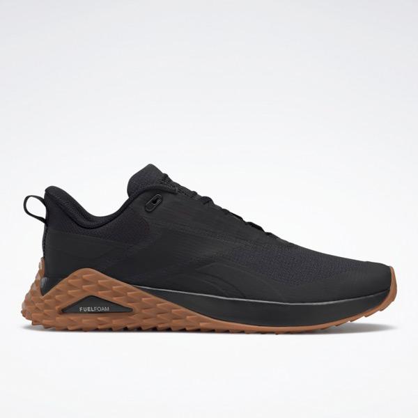 Reebok Trail Cruiser Men's Walking Shoes in Black