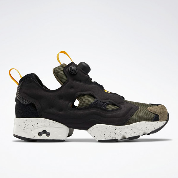 Reebok Instapump Fury Original Men's Shoes in Black / Army Green