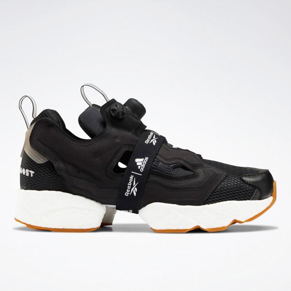 Reebok Instapump Fury Boost Unisex Shoes in Black