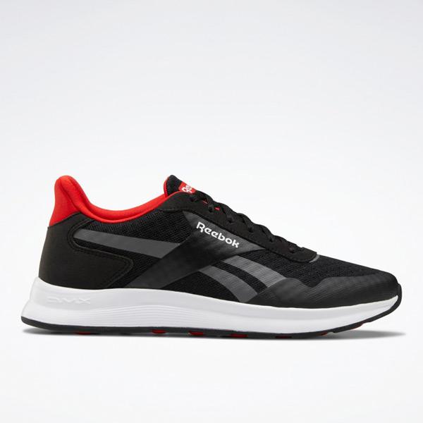 Reebok Unisex Royal HR DMX Running Shoes in Black