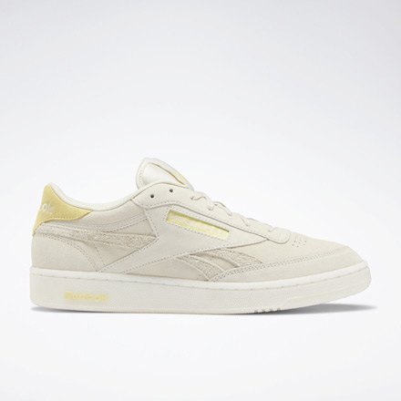 Reebok Club C Revenge Men's Court Shoes in Alabaster / White
