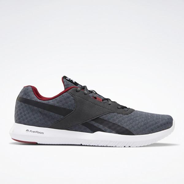 Reebok Reago Essential 2 Men's Training Shoes in Dark Grey / Black
