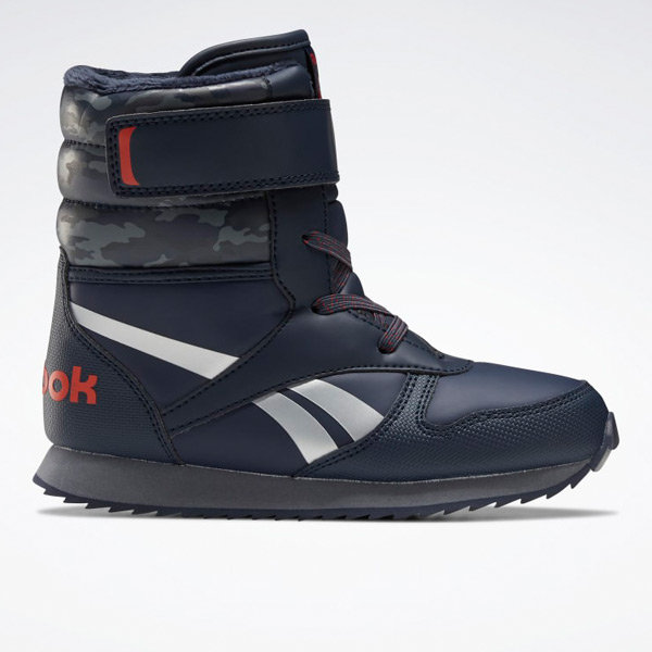 Reebok Unisex Classic Snow Kids Jogger Lifestyle Boots in Navy