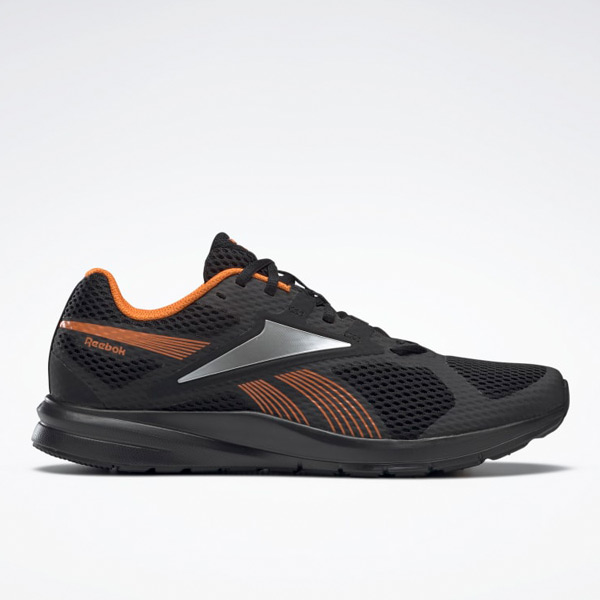 Reebok Endless Road 2 Men's Running Shoes in Black / Orange